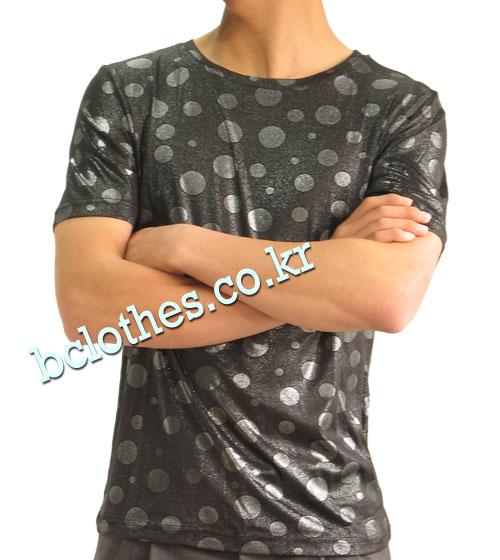 남자 티셔츠 댄스복